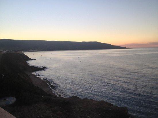 Hotel New-Beach :                   Un beau levé de soleil...