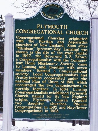 ‪Plymouth Congregational Church‬
