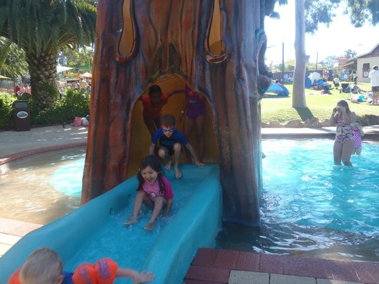 Adventure World:                   little kids area water play