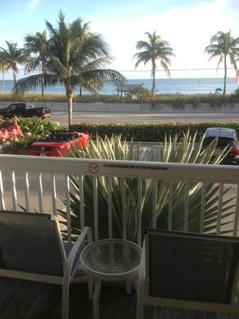 Sheraton Suites Key West:                   balcony
