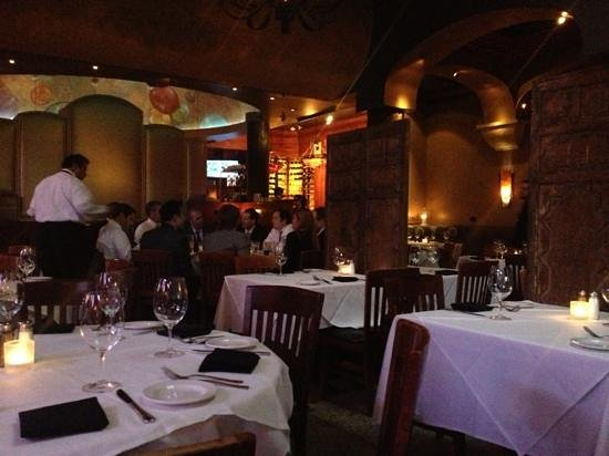 Al Biernat's:                   the thing that separates this restaurant apart, I witnessed a waiter checking