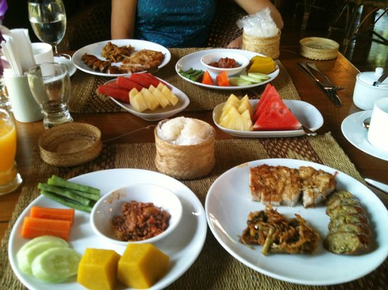 Baan Orapin Bed and Breakfast:                   Baan Orapin Thai style breakfast