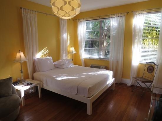 Villa Paradiso: el dormitorio