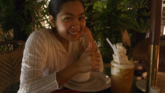 Patio Pacific Boracay:                   yummy frozen iced tea