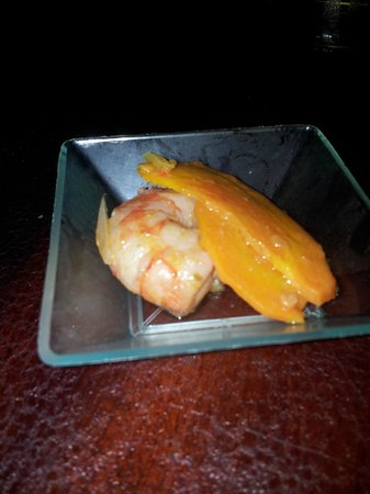 Savana Restaurant:                                     King prawn appetiser from buffet