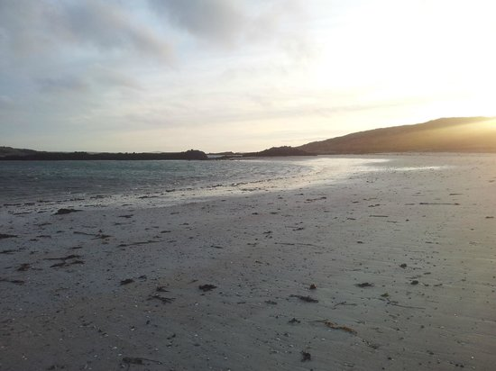 Doonmore Hotel: Beautiful Bofin beach