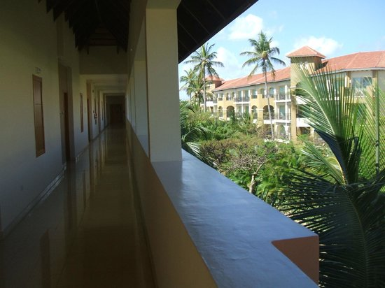 Secrets Royal Beach Punta Cana:                   Tropical view from the third floor.  Clean and beautiful.