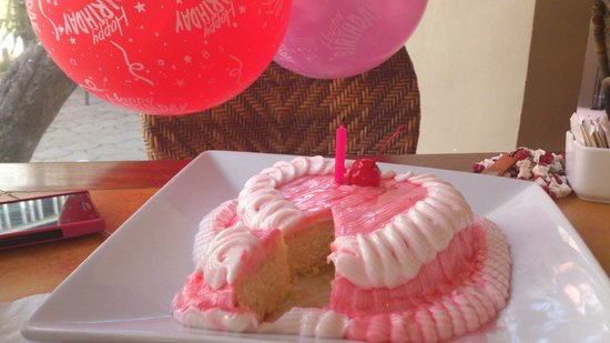 Patio Pacific Boracay:                   Happy Birthday! ^_^