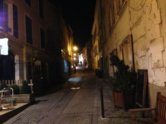 Hotel Le Parc :                   Located on a quaint, cobbled street in old Marly le Roi