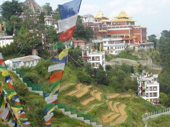 Дуликхель, Непал:                                     le site