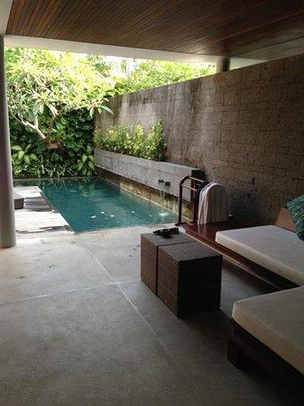 بالي مانديرا بيتش ريزورت آند سبا:                   pool villa Bali Mandira                 