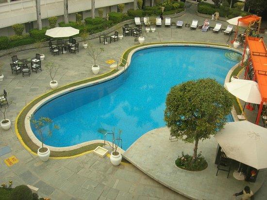 เดอะ คลาริดจ์ นิวเดลี:                   View from room