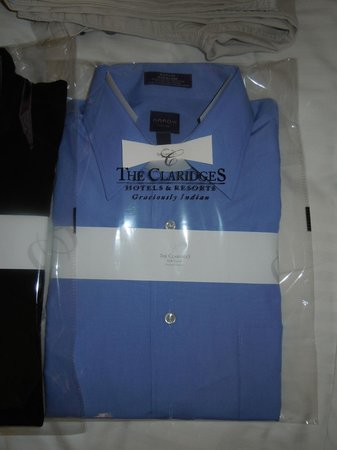 The Claridges New Delhi:                   Killer laundry