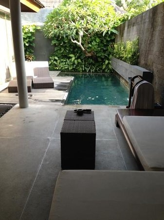 Bali Mandira Beach Resort & Spa:                   pool villa Bali Mandira