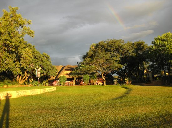 Malandela's Guest House:                   Grounds of serenity