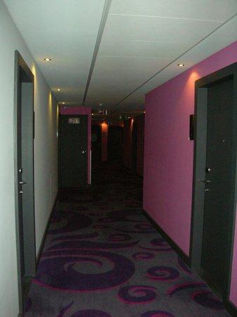 Thon Hotel EU:                                     Couloir de l'hôtel
