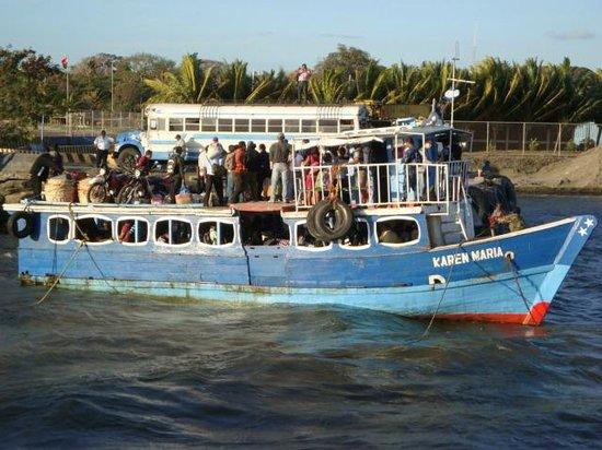 Charco Verde:                   Sea-sick prone smaller boat