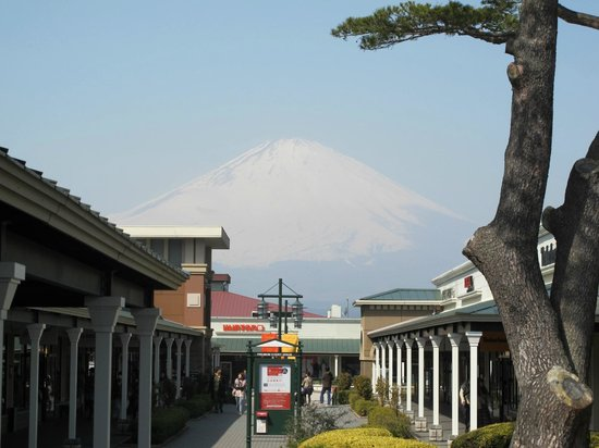 Gotemba, Japan: Mount Fuji from East Zone