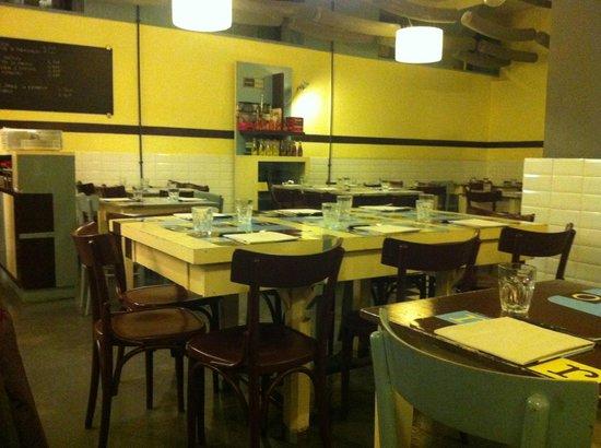 Retro :                   The restaurant