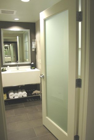 The Hotel at Arundel Preserve:                   Bathroom