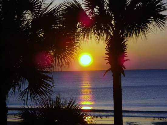 Hampton Inn & Suites Myrtle Beach/Oceanfront:                                     wow sunrise