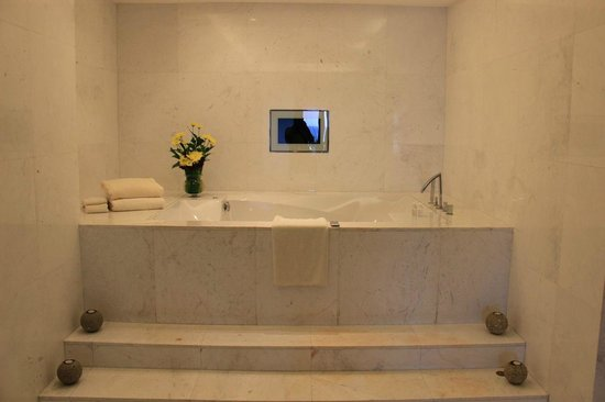 The Fortress:                   i can watch more TV in the tub...