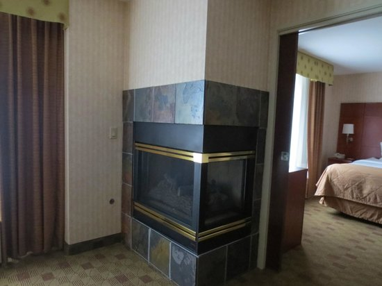 Clarion Hotel Portland Airport:                   Suite