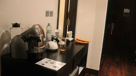 The Fortress :                   and the coffee area...