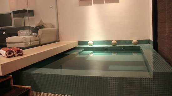 The Fortress:                   more of the pool in the suite...