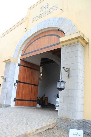 The Fortress Resort & Spa:                   the grand entrance...