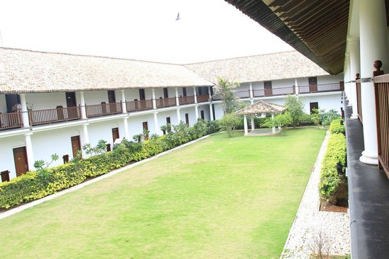 The Fortress Resort & Spa:                   manicured gardens...