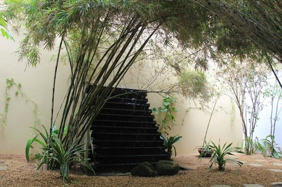 The Fortress Resort & Spa:                   very impressive spa garden...