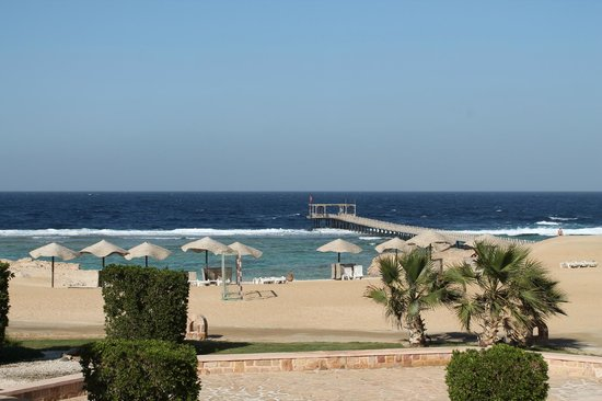 Radisson Blu Resort, El Quseir:                   View from room balcony