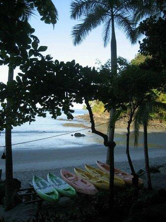 Tulemar Bungalows & Villas:                                     Private Beach