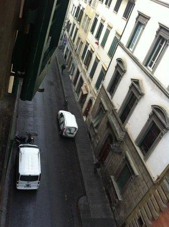 Hotel Le Due Fontane:                   la vista dalla stanza
