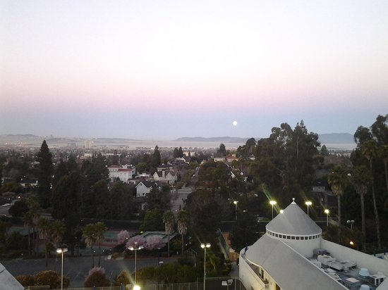 Claremont Club & Spa, A Fairmont Hotel:                                     Early morning view from our room