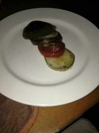 Sanctuary Cap Cana by AlSol:                   Veggies at The Steakhouse