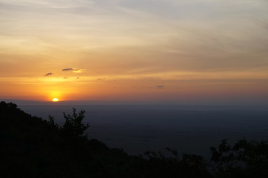 Kilima Camp:                                                       Sunrise