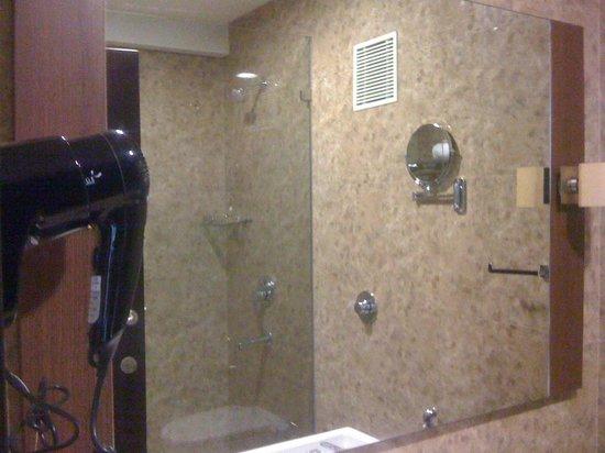Sunflower Hotel:                   bathroom view