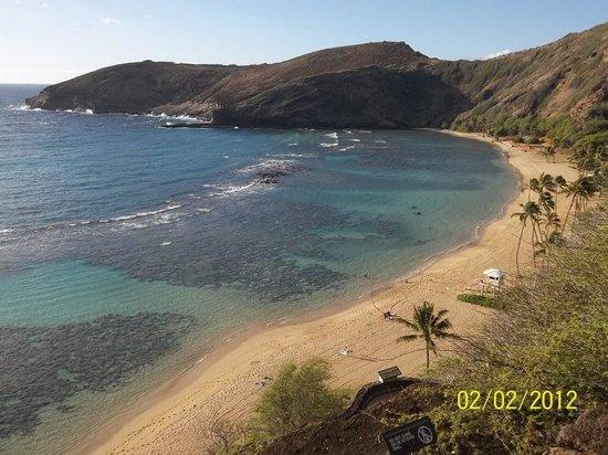 Ka'anapali Beach :                   Waikiki Beach in Honolulu