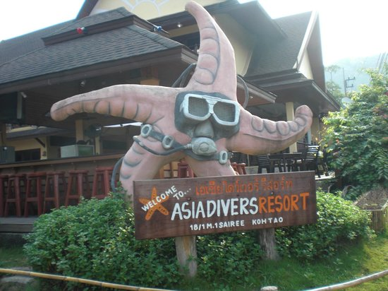 Asia Divers Resort:                   Ingresso Hotel