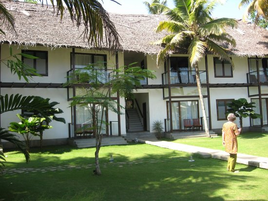 The Park on Vembanad Lake:                   The rooms looking out on to the lake