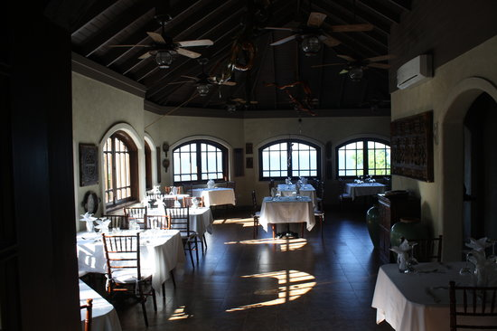 Hermosa Cove - Jamaica's Villa Hotel :                                     Event space inside upstairs at the restaurant.