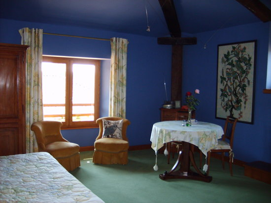 Le Nid a Bibi : Grande chambre bleue n°1
