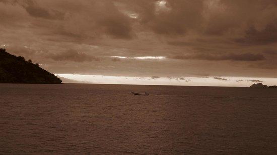 Likuliku Lagoon Resort:                   atardeceres