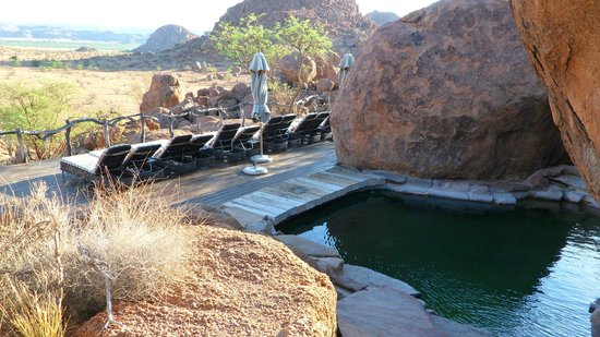 Mowani Mountain Camp:                   Pool