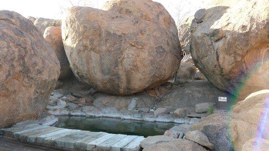 Mowani Mountain Camp:                   Pool