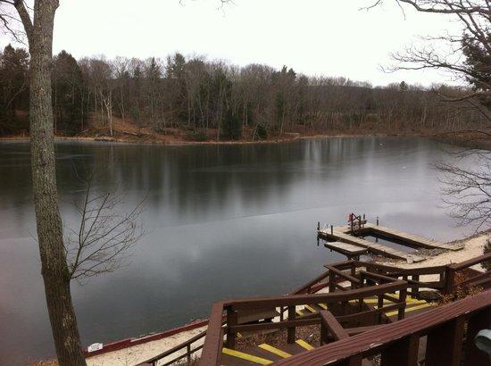 Pocono Palace Resort:                   Beautiful scenery even in Winter