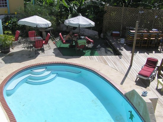 Casa Libre Puerto Rico:                   Pool/Breakfast area