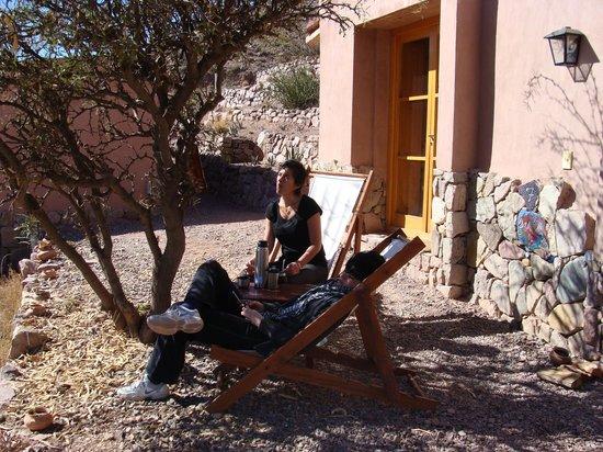 Cerro Chico:                   Descanso en la cabaña